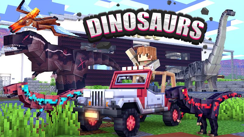 Dinosaurs on the Minecraft Marketplace by Fall Studios
