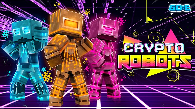 Crypto Robots on the Minecraft Marketplace by GoE-Craft