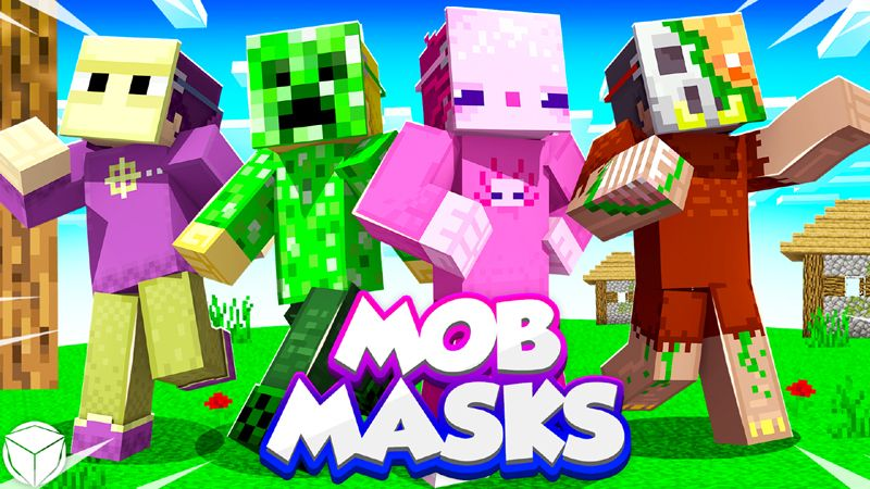 Mob Masks on the Minecraft Marketplace by Logdotzip