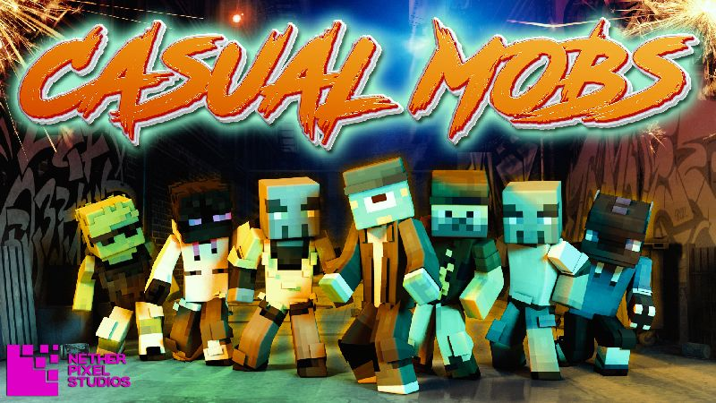 Casual Mobs on the Minecraft Marketplace by Netherpixel