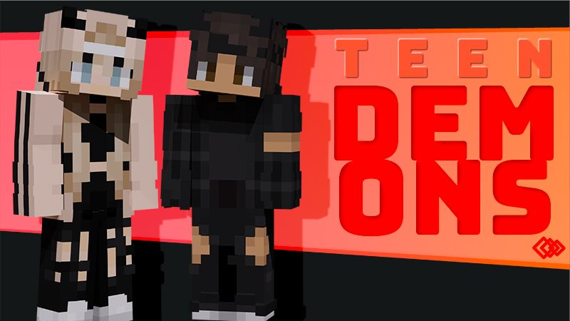 Teen Demons on the Minecraft Marketplace by Tetrascape