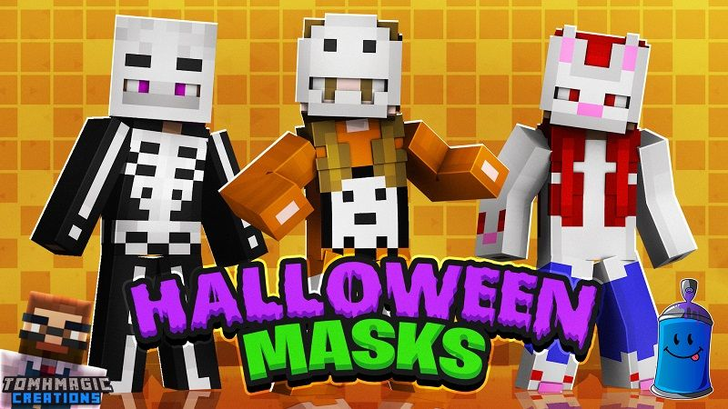 Halloween Masks on the Minecraft Marketplace by Tomhmagic Creations