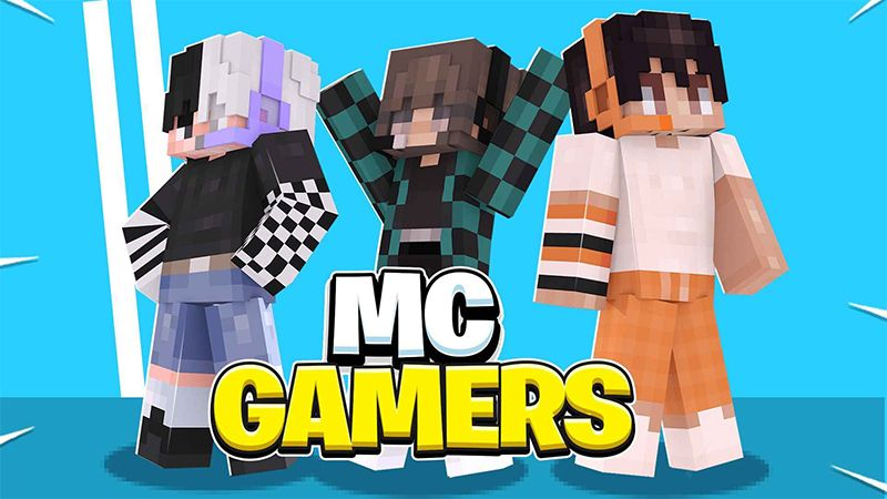MC GAMERS on the Minecraft Marketplace by ChewMingo