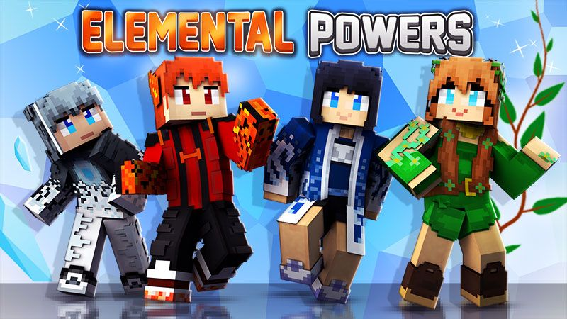 Elemental Powers on the Minecraft Marketplace by The Lucky Petals