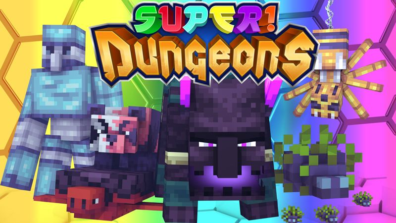 Super Dungeons on the Minecraft Marketplace by Pixels & Blocks