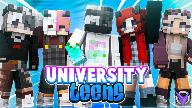 University Teens on the Minecraft Marketplace by Team Visionary