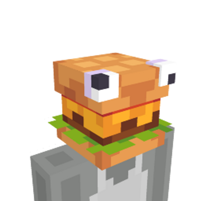 Hamburger Head on the Minecraft Marketplace by Square Dreams