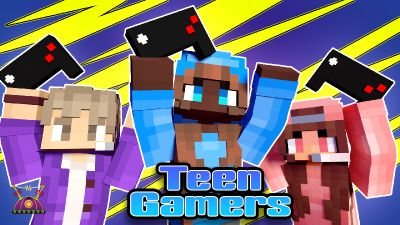 Teen Gamers on the Minecraft Marketplace by Cleverlike