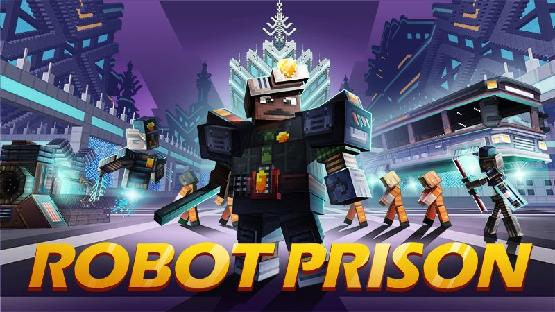 Robot Prison on the Minecraft Marketplace by Mythicus