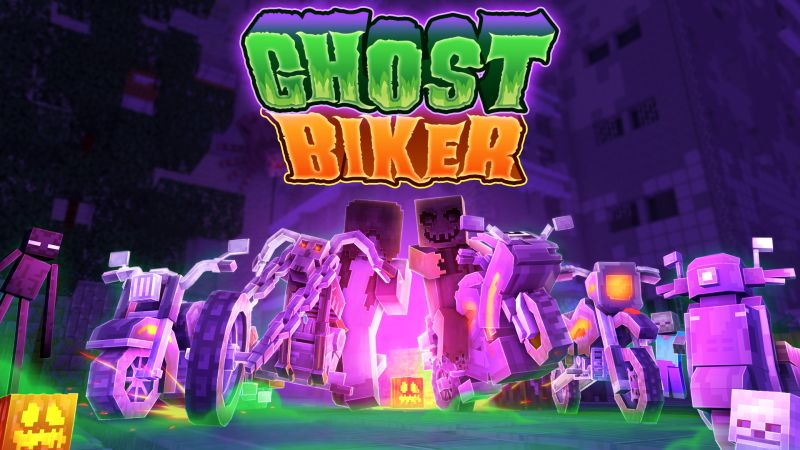 Ghost Bikers on the Minecraft Marketplace by CubeCraft Games