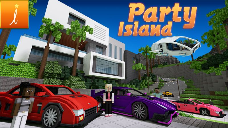 Party Island on the Minecraft Marketplace by Imagiverse