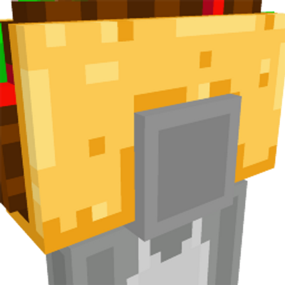 Giant Taco Hat on the Minecraft Marketplace by Noxcrew