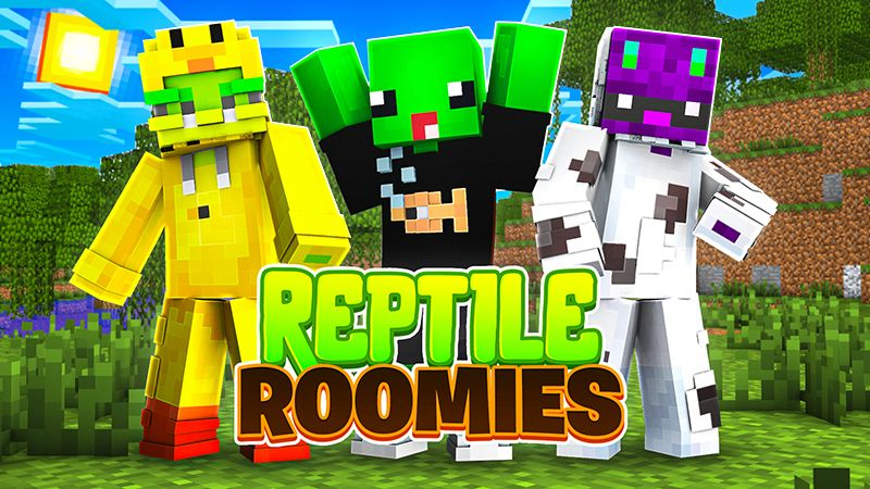 Reptile Roomies on the Minecraft Marketplace by Blu Shutter Bug