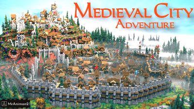 Medieval City Adventure on the Minecraft Marketplace by MrAniman2
