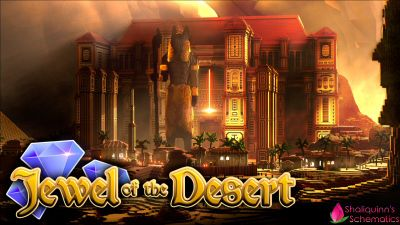 Jewel of the Desert on the Minecraft Marketplace by Shaliquinn's Schematics