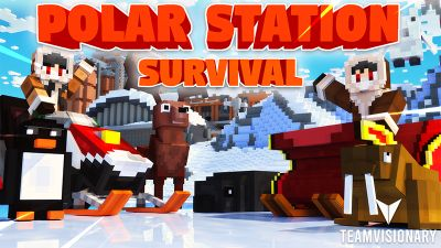 Polar Station Survival on the Minecraft Marketplace by Team Visionary