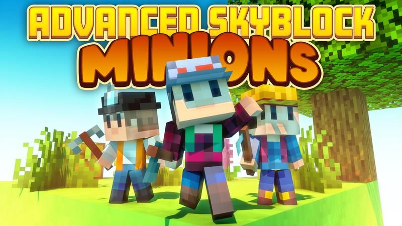 Advanced Skyblock Minions on the Minecraft Marketplace by Cubed Creations