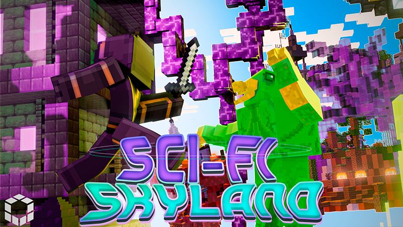 SciFi Skyland on the Minecraft Marketplace by UnderBlocks Studios