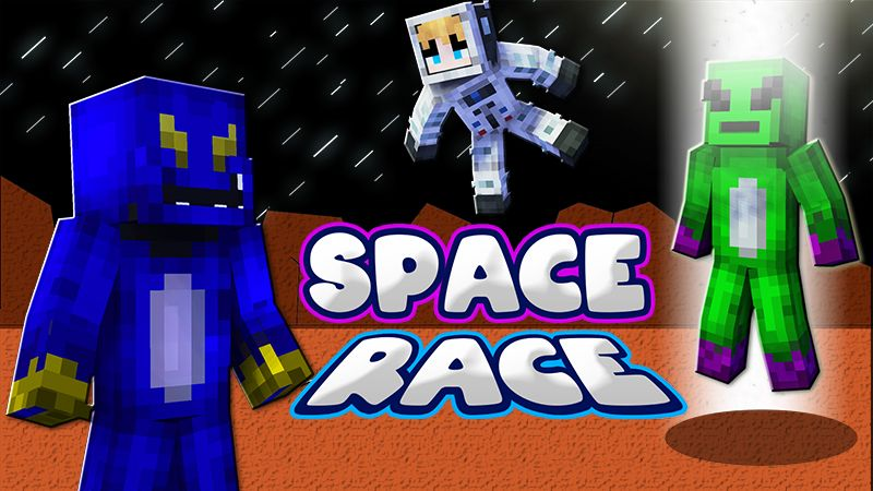 Space Race on the Minecraft Marketplace by Blu Shutter Bug