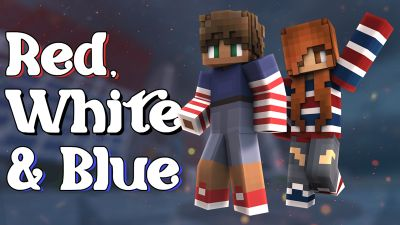 Red White and Blue on the Minecraft Marketplace by Impulse