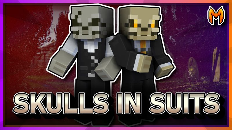 Skulls in Suits on the Minecraft Marketplace by Metallurgy Blockworks