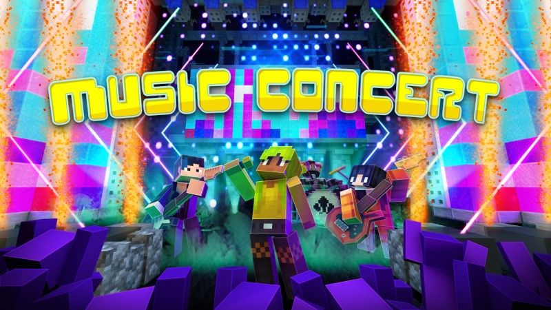 Music Concert on the Minecraft Marketplace by Shapescape