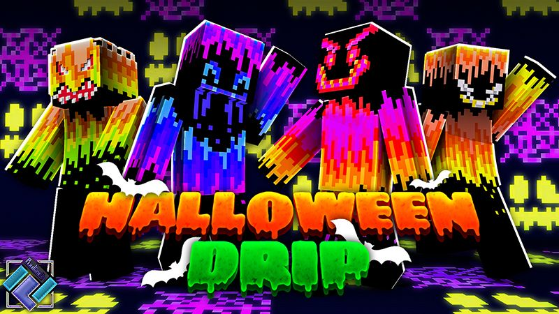 Halloween Drip on the Minecraft Marketplace by PixelOneUp