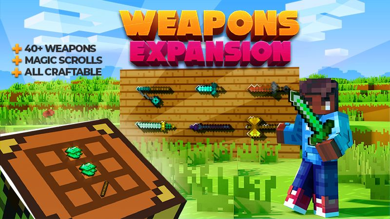 Weapons Expansion on the Minecraft Marketplace by Shapescape
