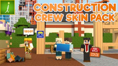 Construction Crew on the Minecraft Marketplace by Imagiverse