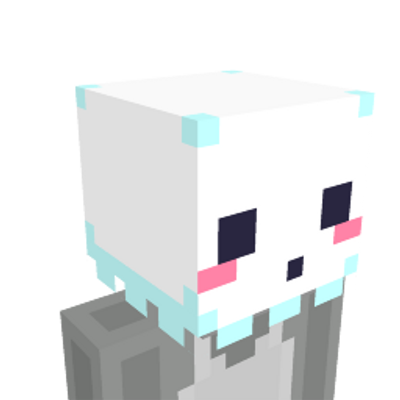 Ghost Head on the Minecraft Marketplace by Cyclone