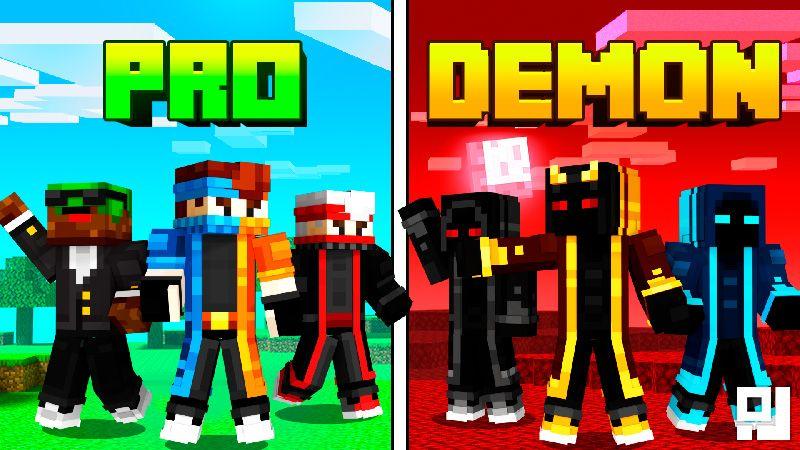 Pro VS Demon on the Minecraft Marketplace by inPixel
