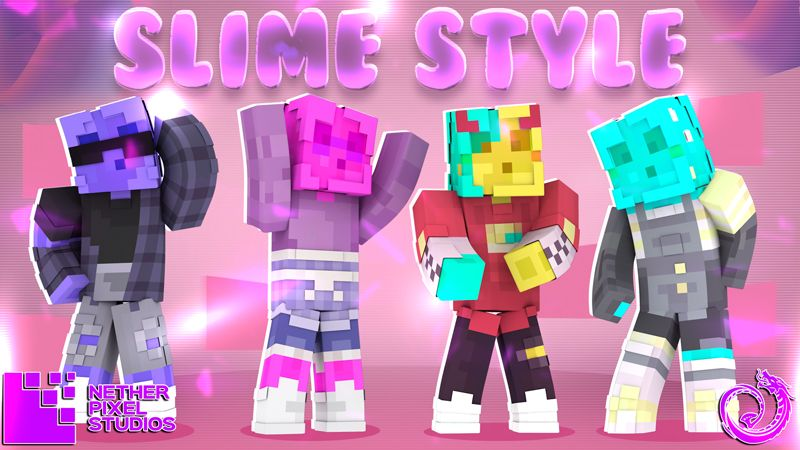 Slime Style on the Minecraft Marketplace by Netherpixel