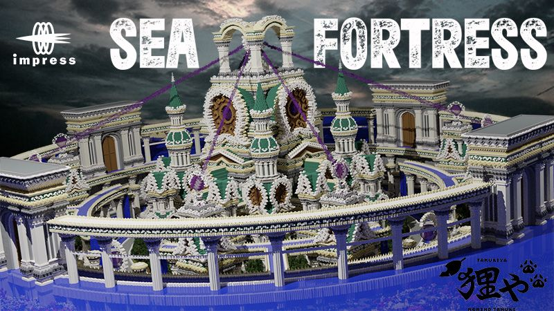Sea Fortress on the Minecraft Marketplace by Impress