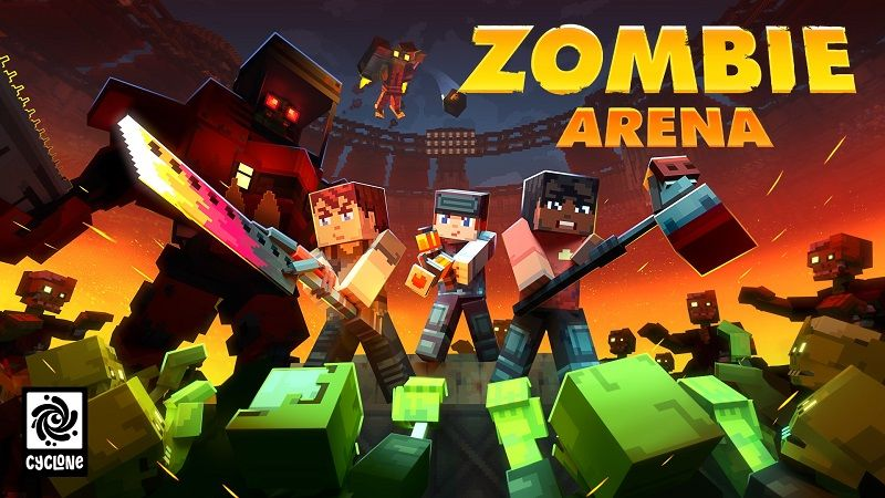 Zombie Arena on the Minecraft Marketplace by Cyclone
