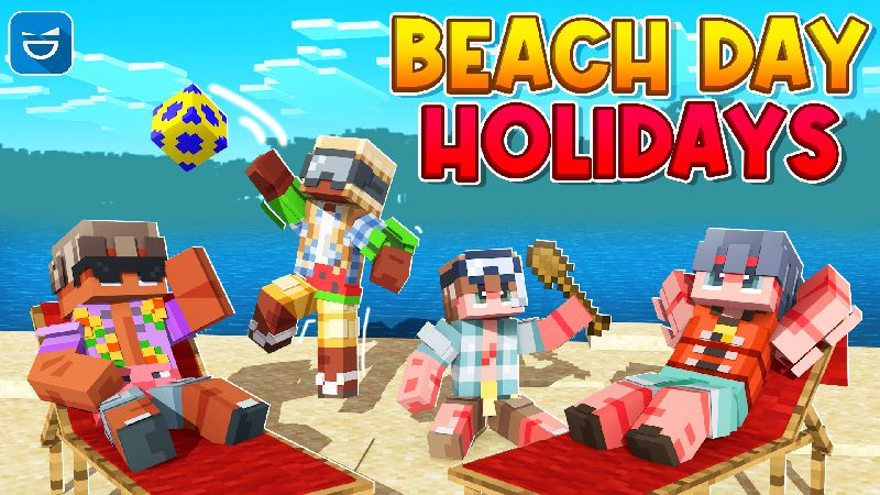 Beach Day Holidays on the Minecraft Marketplace by Giggle Block Studios