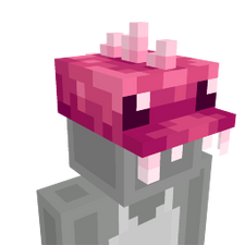Pink Dino Cap on the Minecraft Marketplace by BLOCKLAB Studios