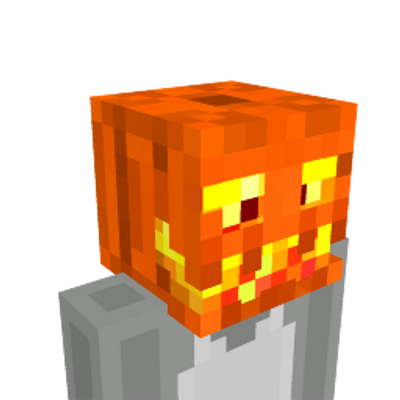 Flaming Jack OLantern on the Minecraft Marketplace by CubeCraft Games