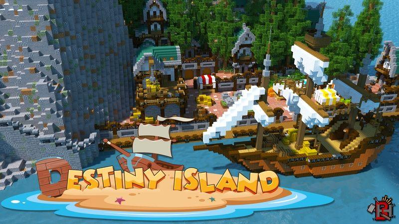 Destiny Island on the Minecraft Marketplace by Builders Horizon