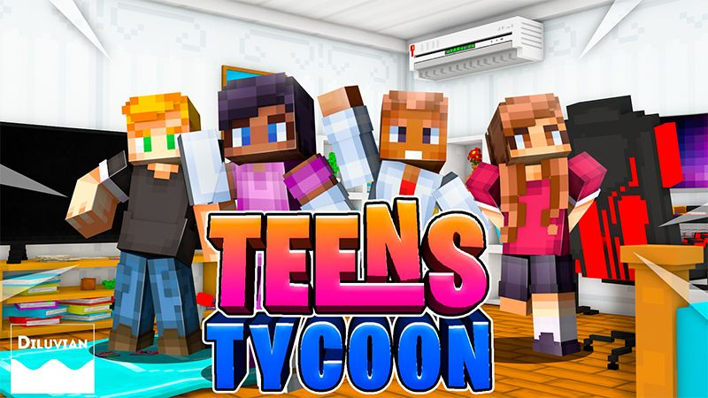 Teens Tycoon on the Minecraft Marketplace by Diluvian