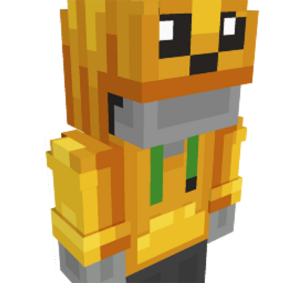 Pumpkin Hoodie on the Minecraft Marketplace by Geeky Pixels