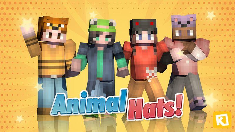 Animal Hats on the Minecraft Marketplace by Kuboc Studios