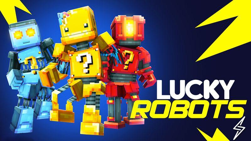 Lucky Robots on the Minecraft Marketplace by Senior Studios