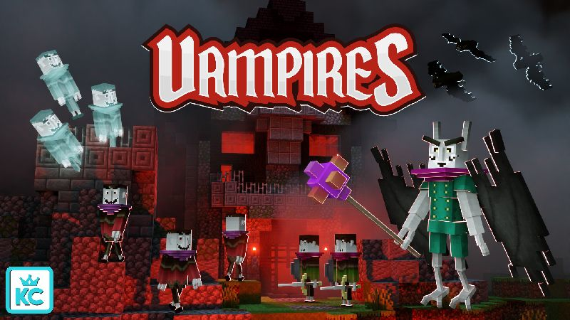 Vampires on the Minecraft Marketplace by King Cube