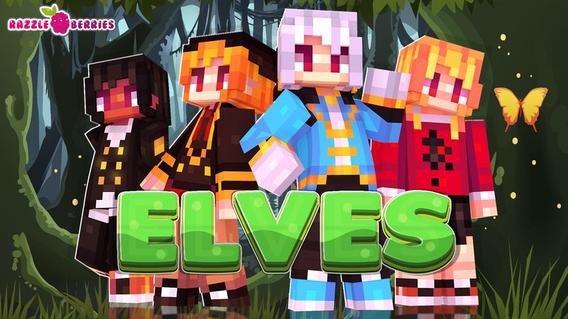 Elves on the Minecraft Marketplace by Razzleberries