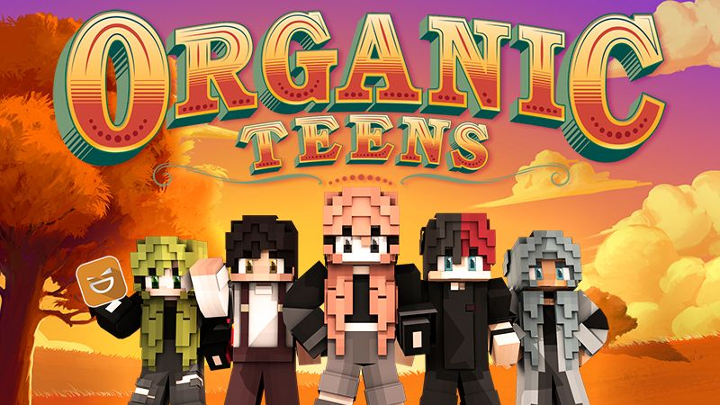 Organic Teens on the Minecraft Marketplace by Giggle Block Studios