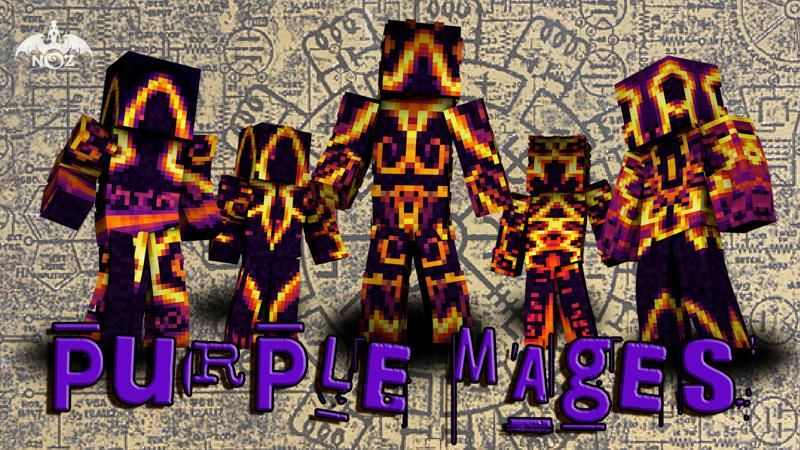Purple Mages on the Minecraft Marketplace by Dragnoz