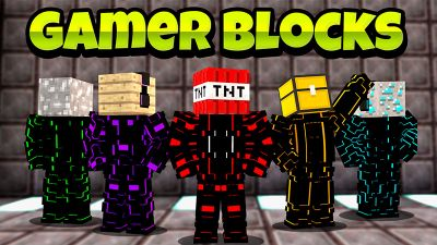 Block Gamers on the Minecraft Marketplace by KA Studios