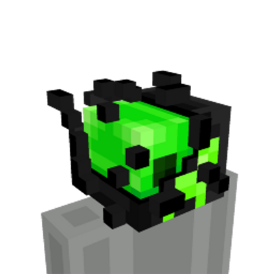 Viral Creeper Head on the Minecraft Marketplace by Blu Shutter Bug