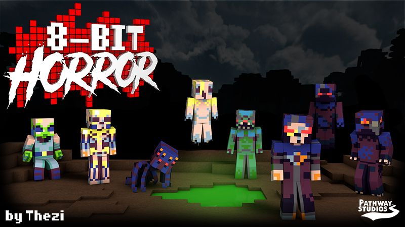 8Bit Horror on the Minecraft Marketplace by Pathway Studios