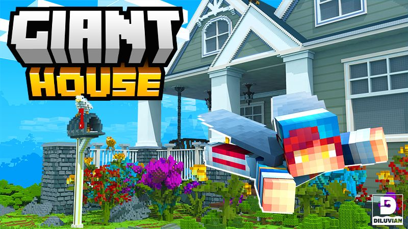 Giant House on the Minecraft Marketplace by Diluvian